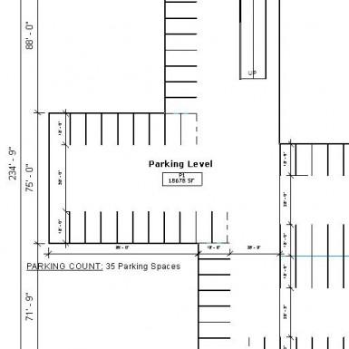 1920 Chestnut  Street Parking Level